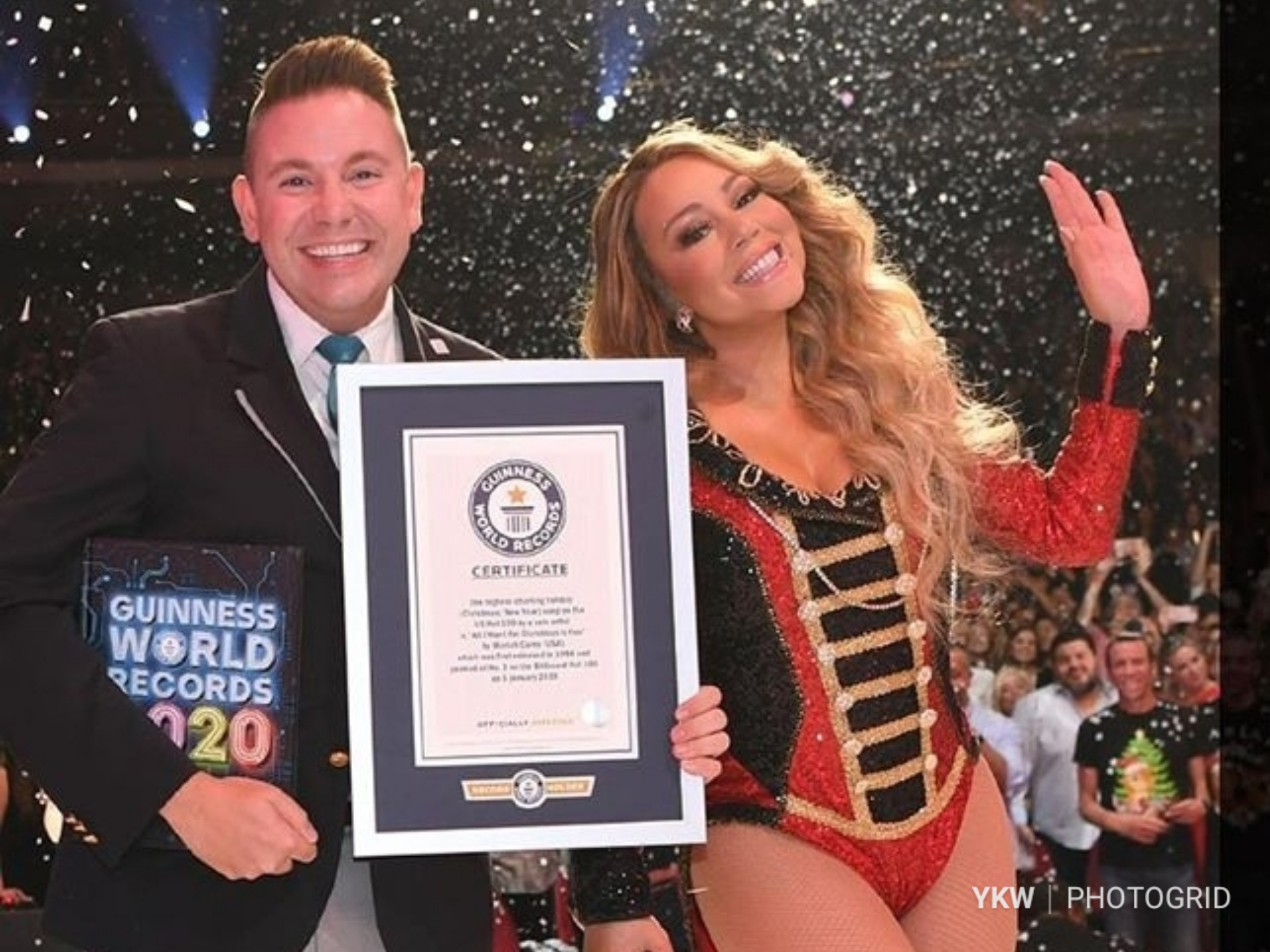 Mariah Carey Makes The 2020 Guinness World Records With Holiday